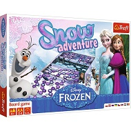 Gra Snow Adventure Frozen Trefl 01292