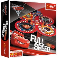 Gra Full Speed Disney Cars 3D Trefl 01489