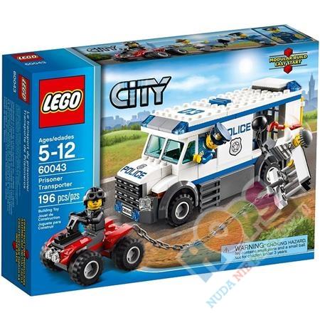 Lego City Furgonetka Policyjna 60043