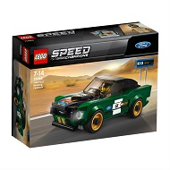 LEGO SPEED CHAMPIONS FORD MUSTANG FASTBACK Z 1968R 75884