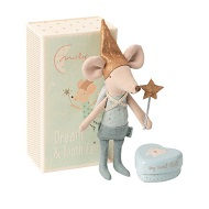 Myszka Tooth Fair Mouse In Matchbox Big Brother Maileg 16073101