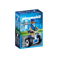 playmobil city action policjantka na balance-racer 6877