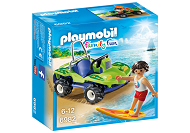 PLAYMOBIL FAMILY FUN SURFER Z BUGGY 6982