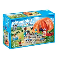 Playmobil Family Fun Rodzina Na Kempingu 70089