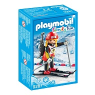 Playmobil Family Fun Biathlonistka 9287