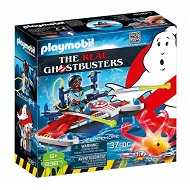 playmobil the real ghostbusters zeddemore ze skuterem wodnym 9387